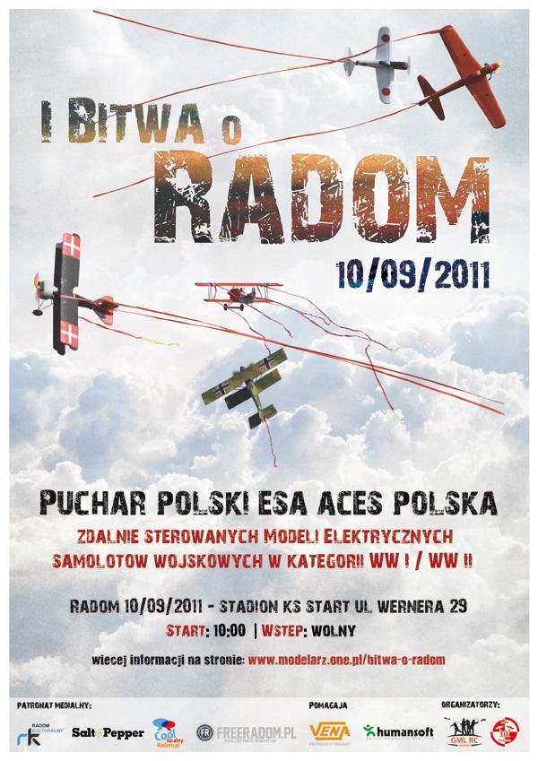 Promo plakat zawodów