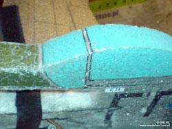 Budowa ESA - Ostre krawędzie
