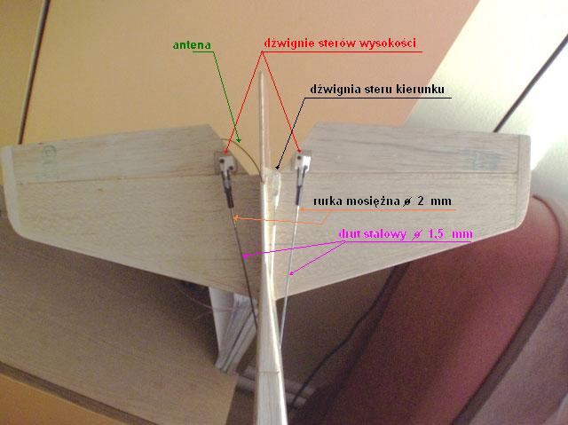 Ster wysokości w modelu RC