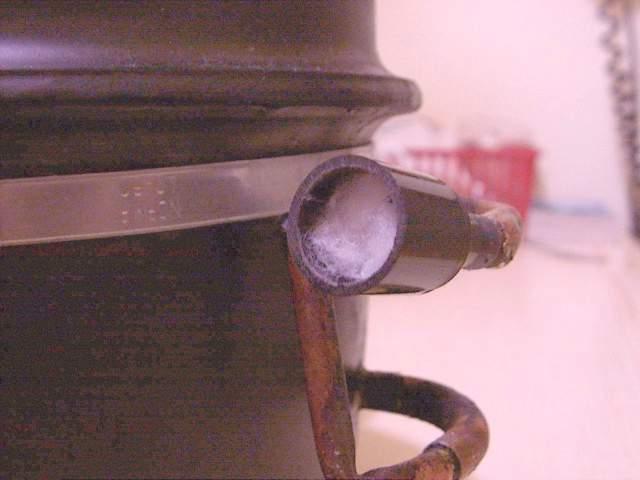 Kompresor - czyli jak malować przy pomocy starej lodówki?